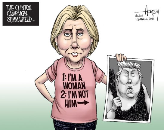 Image result for lesser of two evils art, Hillary Clinton
