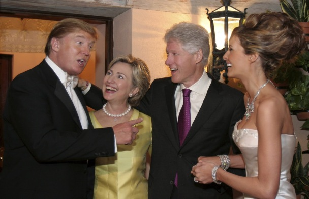Image result for SAINT AND SINNER, Hillary or the Donald