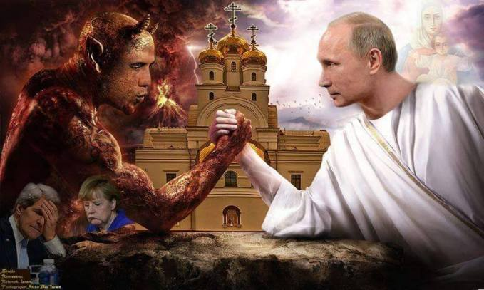 Image result for Putin views obama as antichrist