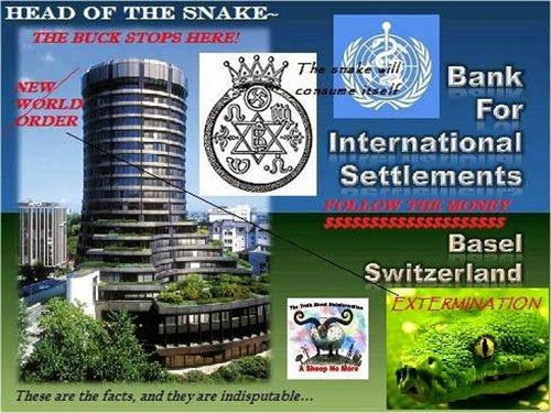 Image result for the head of the snake, bank of international settlements, basel switzerland