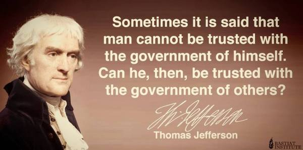 Image result for Thomas Jefferson, self-government, goal of declaration of independence