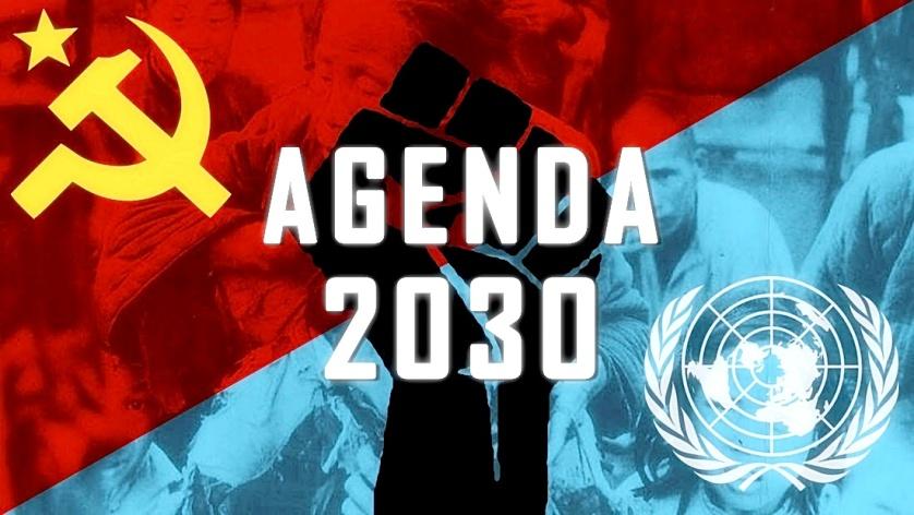 Image result for agenda 2030 is a form of karl marx communism