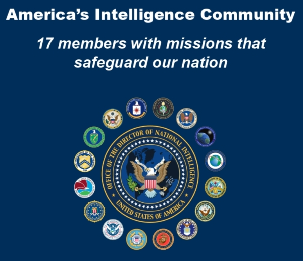 Image result for america's 17 intelligence agencies