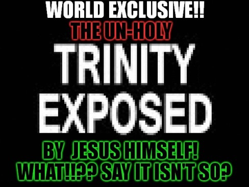 Image result for disceptions of Christianity, trinity, sin, Jesus is God